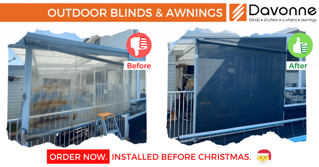 Outdoor blinds Sydney
